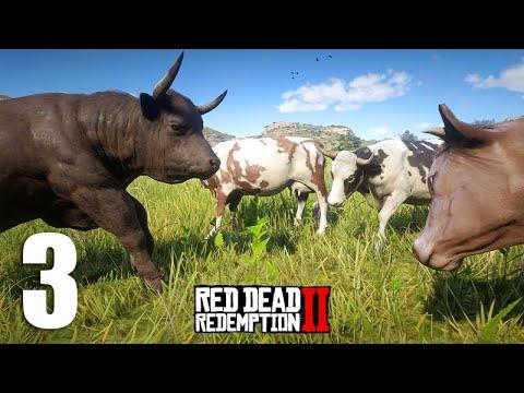 ESTOURO DE BOIADA 3, fugindo com as vacas - Red Dead Redemption 2 thumbnail