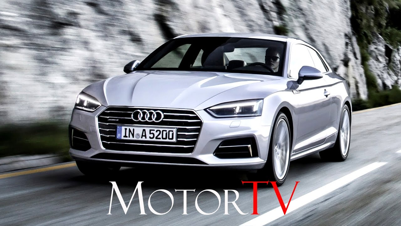 test drive 2017 audi a5 coupe 39 ger youtube. Black Bedroom Furniture Sets. Home Design Ideas