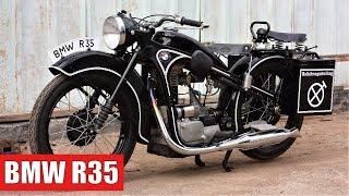Реставрация мотоцикла BMW R35. Мото обзор восстановленного БМВ