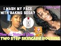 I WASH MY FACE WITH BAKING SODA?😱 DRUGSTORE SKINCARE ROUTINE (how to get a natural glow)