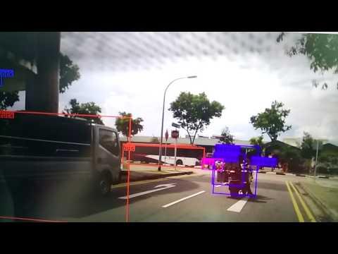 Computer Vision for Autonomous Driving - example 1