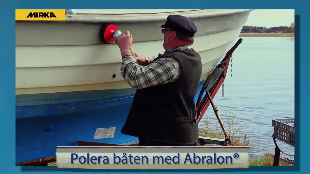 polera plexiglas båt