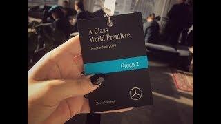 World première Mercedes-Benz A-Class Amsterdam 2018