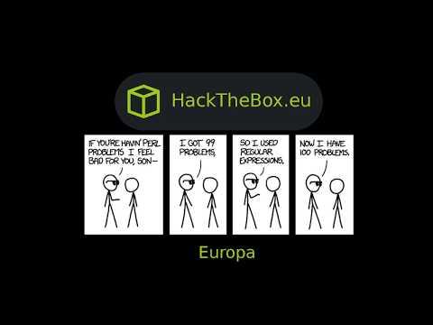 HackTheBox - Europa