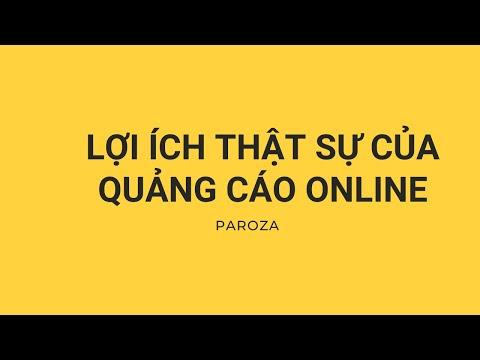 Bài 1: Lợi ích của quảng cáo online