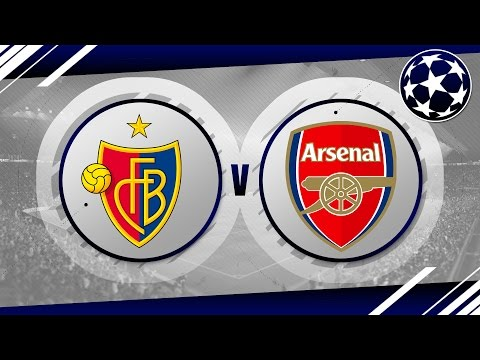 MATCH DAY LIVE 2016/17 - FC Basel v Arsenal // CL Game 6
