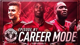 OMG £100M+ WONDERKID SIGNING!? ???? Fifa 18 Manchester United Career Mode #1
