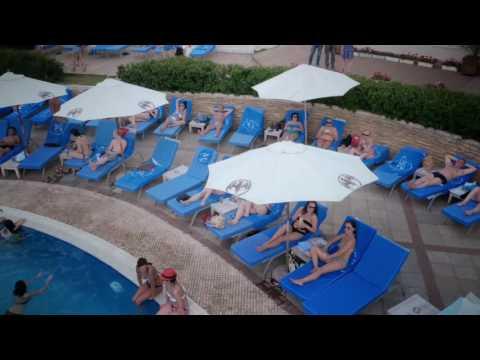 Открытие бассейна на крыше ресторана Rose Bar Crocus City