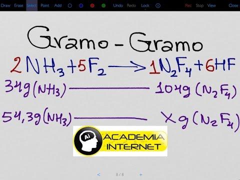Cálculos estequiométricos, mol - mol, gramo - gramo.из YouTube · Длительность: 11 мин17 с