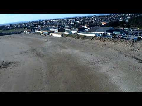 Aerial video over Porthcawl