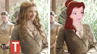 10 Disney Princesses Reimagined As Game Of Thrones Characters