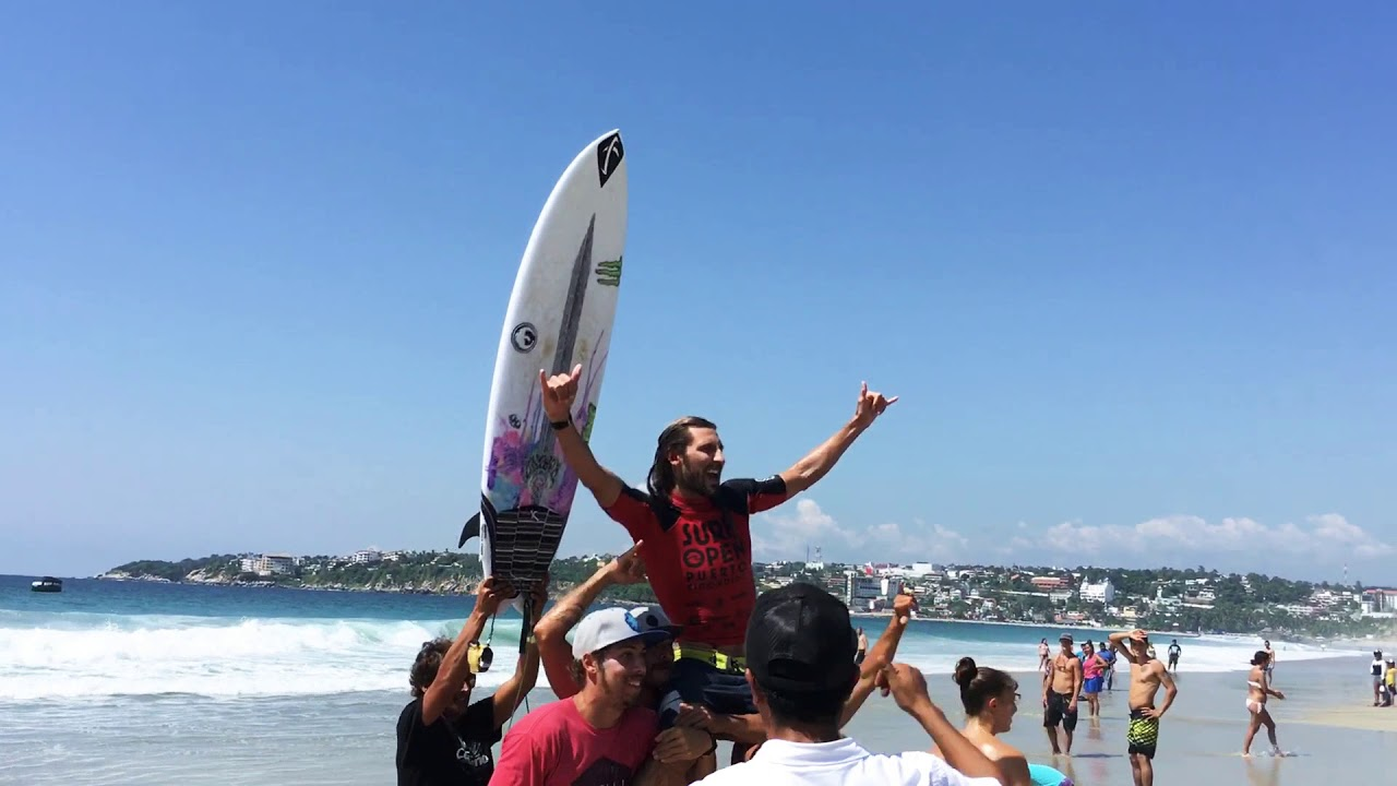 Dyland Southworth ganador del Surf Open Puerto Escondido Oaxaca