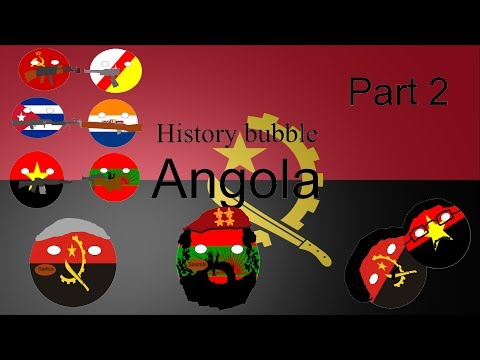 History bubble independent Angola