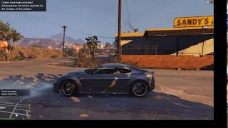 Traver Fuck the Ford GT Car in Deasert in GTA V | Game Tricks