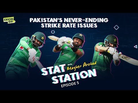Pakistan's never-ending strike-rate issues: Stat Station Episode 5