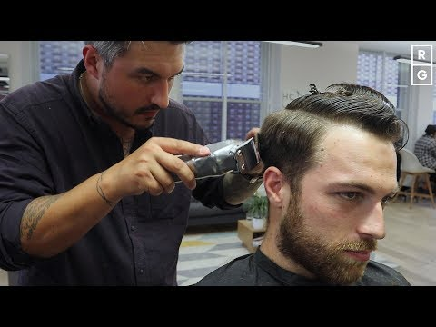 Short Mens Haircut For Fine Textured Hair | Number 4 Back and Sides