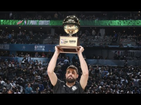 Joe Harris' Full 3-PT Contest Performance   2019 NBA All-Star