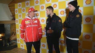 Rennen gegen Kimi Räikkönen | Youtuner | inscopelifestyle