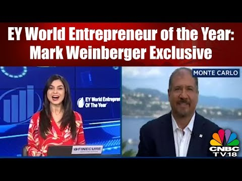 EY World Entrepreneur of the Year: Mark Weinberger Exclusive | CNBC TV18