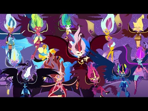 My Little Pony Transforms Equestria Girls into Midnight Forms - MLP Color Change Video