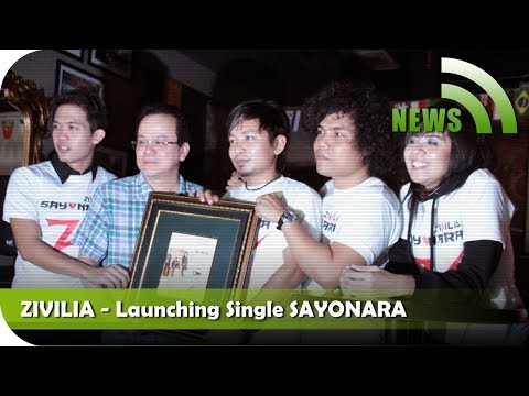 Nagaswara News - Zivilia - Launching Single Terbaru Sayonara - TV Musik Indonesia
