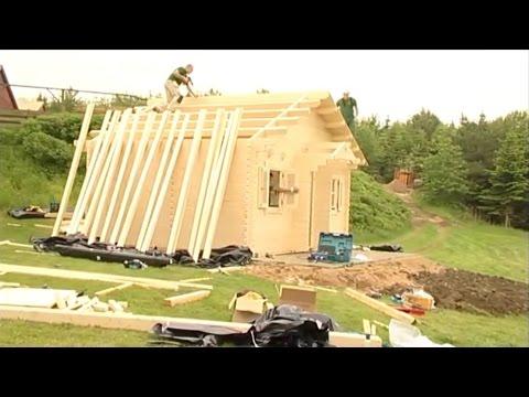 видео: Баня из бруса своими руками