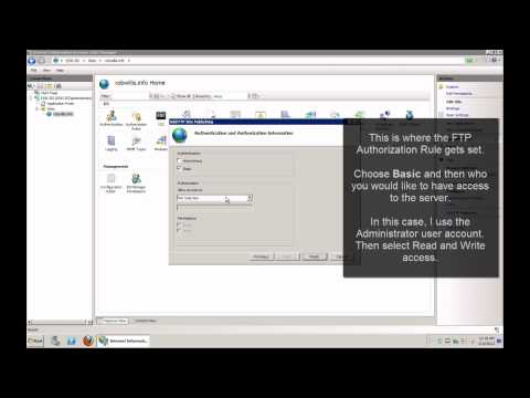 How-To: Windows Server 2008 IIS 7 Part 2 - Secure FTP Setup