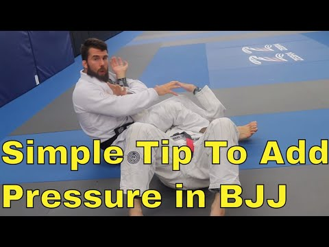 Idea To Easily Add More Pressure to BJJ Positions and Submissions