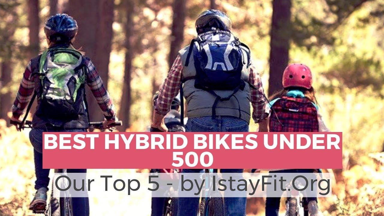 Best Hybrid Bikes Under 500 - Top 5 Best Hybrid Bikes Reviews 2018