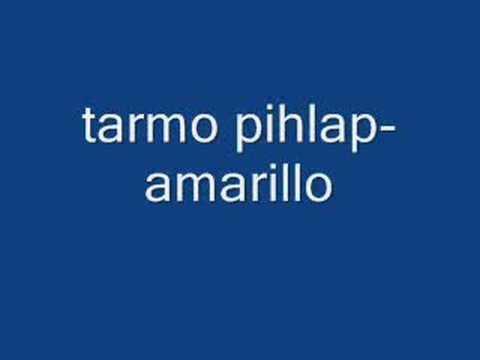 tarmo pihlap-amarillo