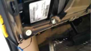 2012 honda accord backup camera install diy using lock pick bar cam 221
