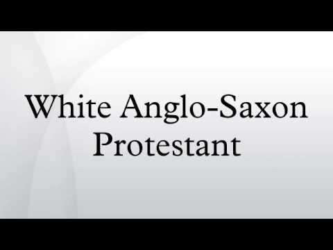 White Anglo-Saxon Protestant