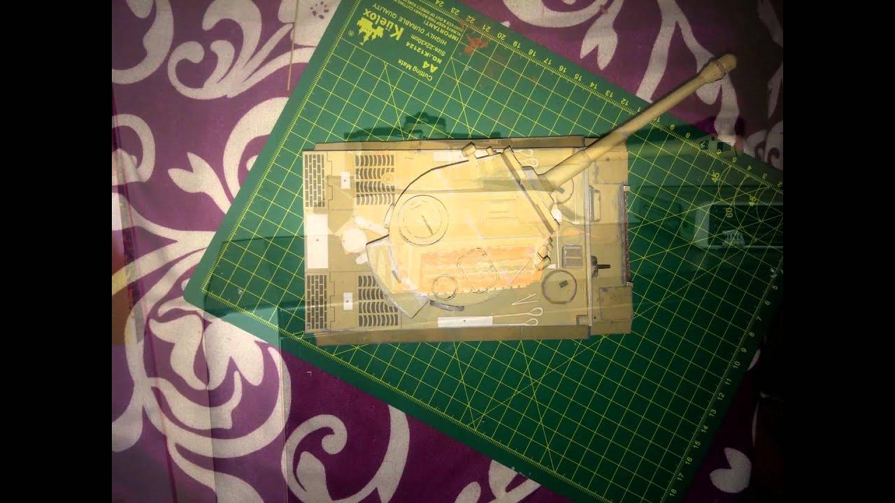 Papercraft [papercraft][paper model] Tiger I-paper-replika review