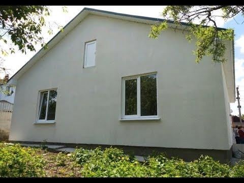 продам дом с ГАЗОМ площадью 100 кв.м. на участке 4,3 сотки, Каменка, Симферополь,Крым