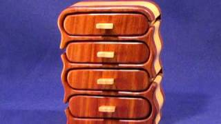 Model - 5 | Four Drawer Chest Jewelry Box