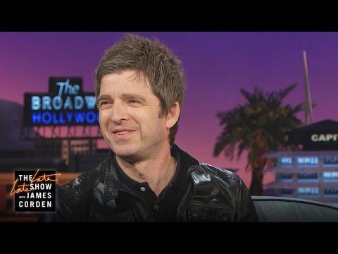 Noel Gallagher Talks One Direction, Oasis Brawls on 'James Corden'