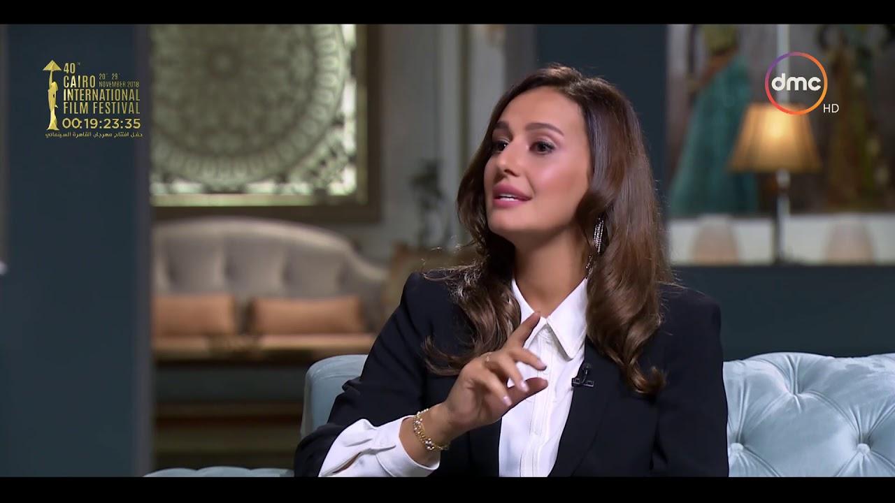 صاحبة السعادة - حلا شيحة : كنت مرعوبة إني همثل مع الفنان نور الشريف فى مسلسل الرجل الآخر