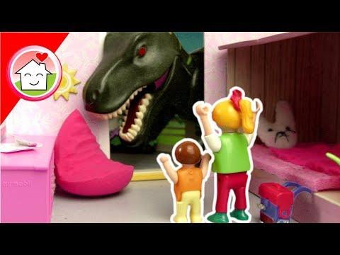Playmobil Film deutsch - Die Dinosaurier sind los! - Video für Kinder von Familie Hauser