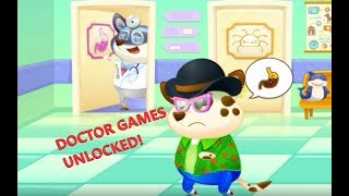 DUDDU all day in HOSPITAL 🚑 (ALL DOCTOR GAMES UNLOCKED) gameplay for kids