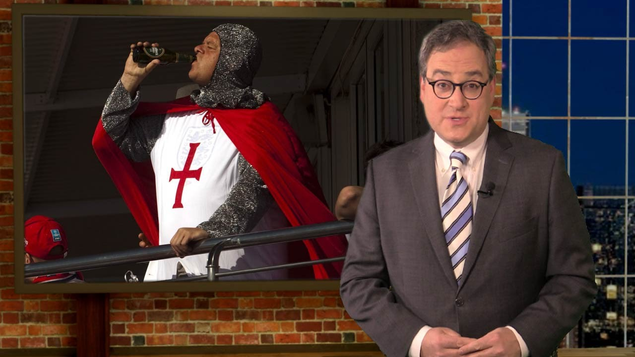 BBC obsesses over politically incorrect  crusader  costumes at Euro 2016  sc 1 st  YouTube & BBC obsesses over politically incorrect