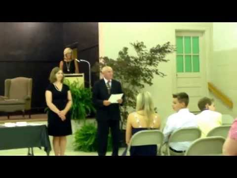 8th grade graduation at Southeastern Academy 2014