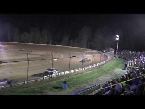 Tyler County Speedway 4-15-17 Heat Race