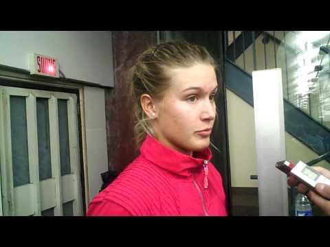Eugenie Bouchard au Challnger Banque Nationale de Saguenay
