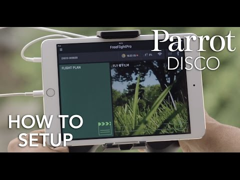 Parrot DISCO - Tutorial #1 - Setup