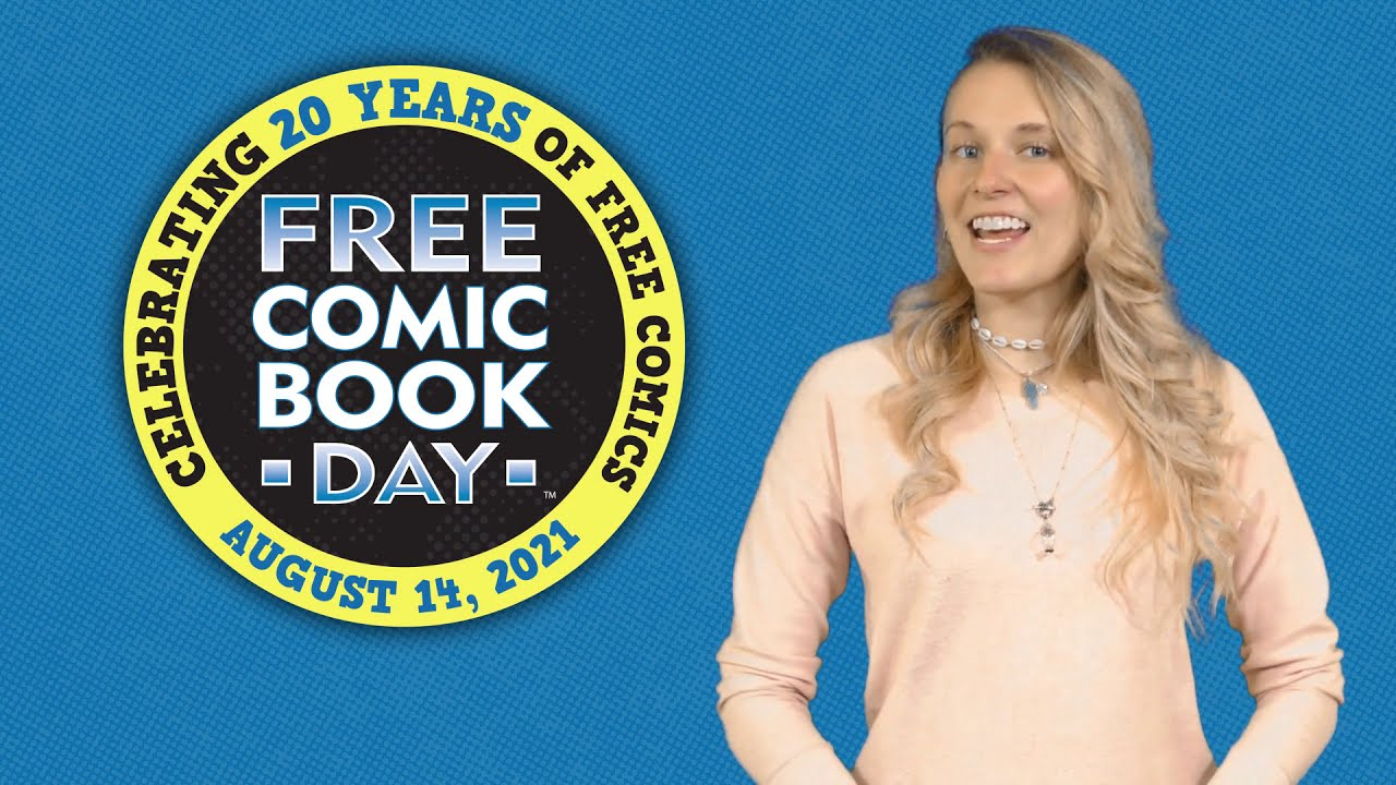 Free Comic Book Day 2021 Full List of Titles Announced!