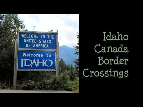 My Trip To Porthill, ID And Eastport, ID - Idaho-Canada Border Crossing Towns - A Travel Vlog