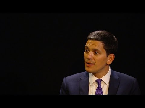 David Miliband on Humanitarian Aid