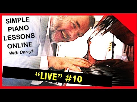 """Fast Track Piano Lessons """"Live"""" - #010 May 12, 2017"""