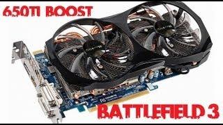 Gigabyte Gtx 650ti Boost OC 2gb - Battlefield3 1080P
