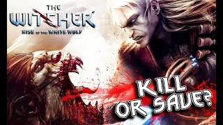THE WITCHER - Princess Striga: Kill or Not? (both choices)